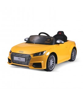 Audi TT Roadster Yellow