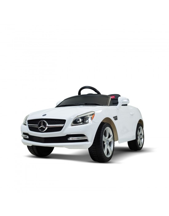 MERCEDES-BENZ SLK WHITE